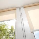 Ziptrack interior blinds
